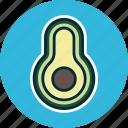 avocado, diet, food, fruit, fruits, guacamole icon