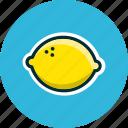 diet, food, fruits, lemon, lemonade icon