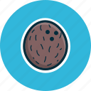 coco, coconut, diet, food, fruits, tropical fruit icon