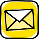 communication, contact, email, letter, network, social media icon