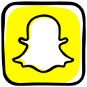 camera, communication, file sharing, ghost, media, snapchat, social, social media icon