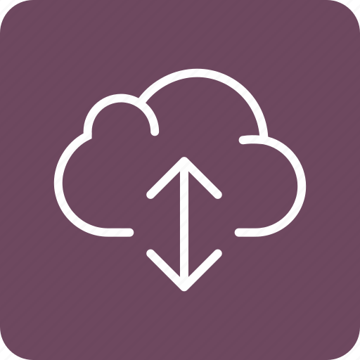 cloud, download, mail, sky, upload, weather icon