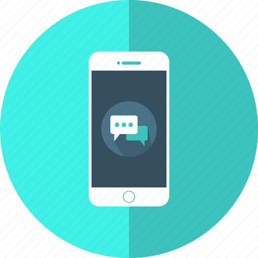 bubble, chat, chatting, conversation, message, mobile, speech icon