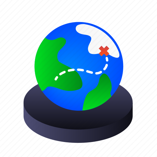 earth, gps, location, map icon