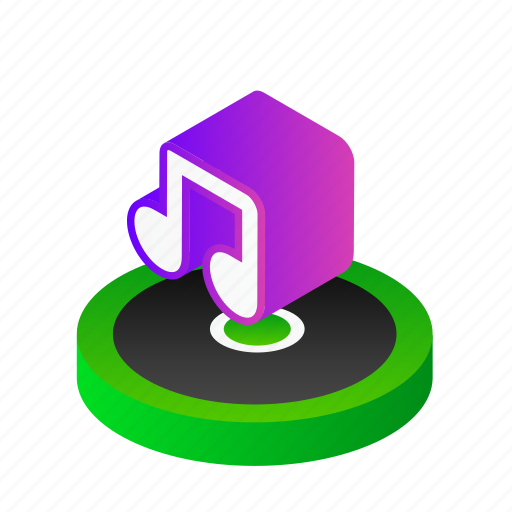 audio, cd, media, music, play, player icon