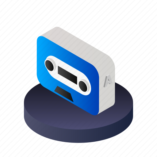 Record, tape, music, sound, audio, media, player icon - Download on Iconfinder