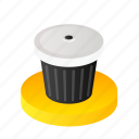 bin, delete, garage, garbage, recycle, trash icon