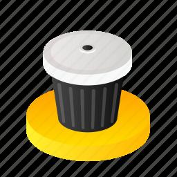 bin, delete, garage, garbage, recycle, trash icon