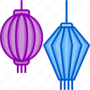 autumn, festival, lamp, lantern, lunar, mid icon