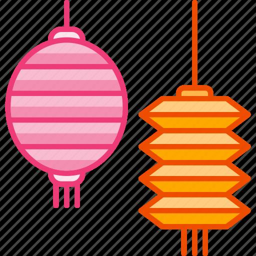 autumn, festival, lamp, lantern, lunar, mid icon
