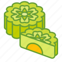 autumn, cake, festival, food, mid, mooncakes icon