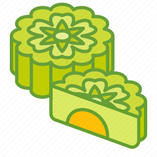 autumn, cake, festival, food, mid, mooncakes icon