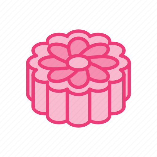 autumn, cake, festival, food, mid, mooncake icon