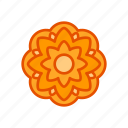 autumn, festival, flower, mid, mooncake, ornament icon