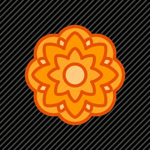 autumn, festival, flower, mid, mooncake, ornament icon