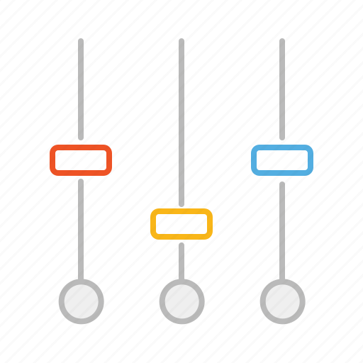 audio, line, mixer, music, options, setting, settings, sound, sound mixer, stroke, tool, video, volume icon