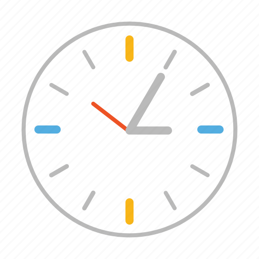 clock, hour, line, minute, second, stroke, time, watch icon