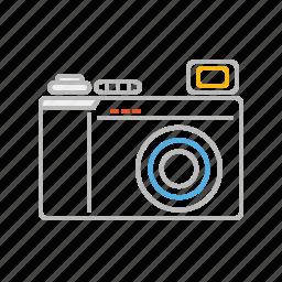 artist, camera, creative, landscape, line, nature, photo, photograph, photographer, picture, shooting, stroke icon