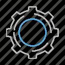wheel, settings, nut, stroke, setting, line