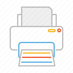 device, document, file, line, message, paper, print, printer, report, stroke, text icon