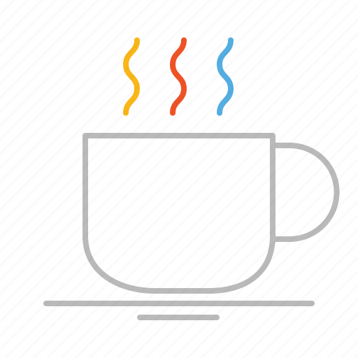 bar, café, coffee, cup, drink, hot, line, mug, restaurant, stroke icon