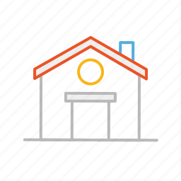 home, homepage, house, line, stroke, welcome icon