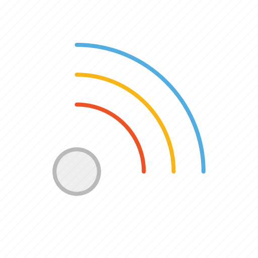 connection, internet, line, signal, stroke, wifi icon