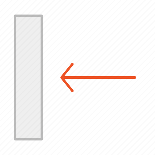 align, align left, arrow, back, element, left, line, position, previous, text icon
