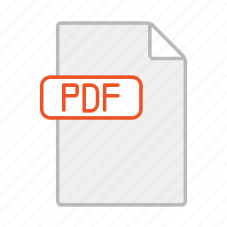 document, file, line, pdf, text icon