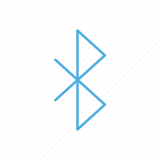Line, signal, bluetooth icon - Download on Iconfinder