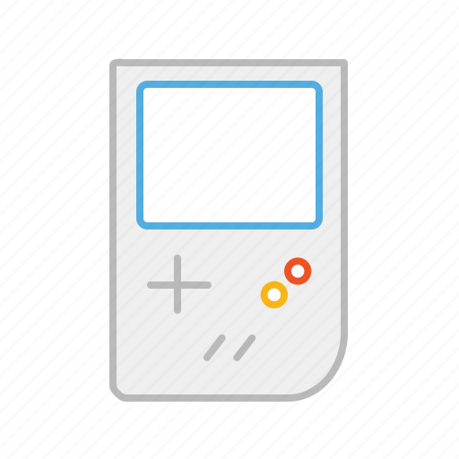 console, device, game, game console, gameboy, line, nintendo, play, video game icon