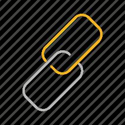 line, link, web icon