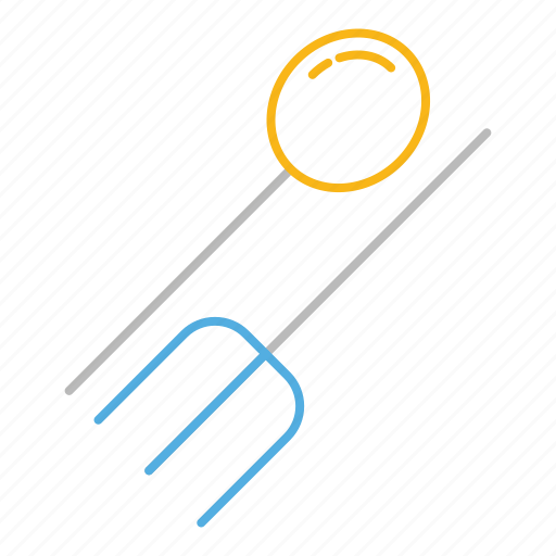 eat, food, fork, hungry, line, restaurant, spoon icon