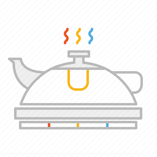 drink, herb, herb tea, hot, infusion, line, pot, tea, teapot icon
