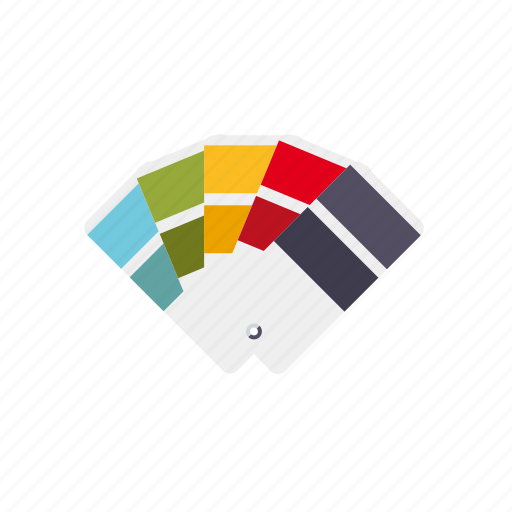 art, color guide, colors, guide, selector, swatches icon