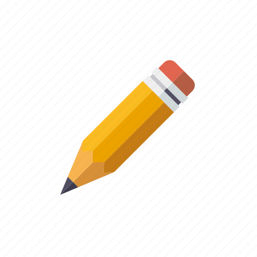 art, drawing, eraser, instrument, pencil, writing icon