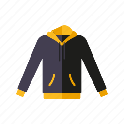 clothing, fashion, garment, hoodie, sportswear, sweater, wardrobe icon