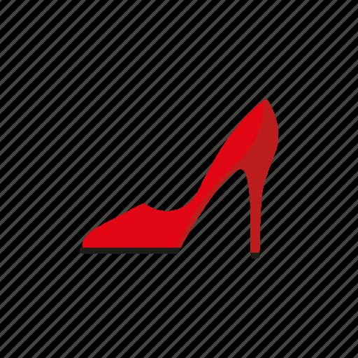 accessories, clothing, fashion, high heels, stiletto, wardrobe, women's wear icon