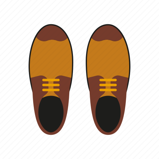 accessories, brogues, clothing, fashion, men's wear, shoes, wardrobe icon