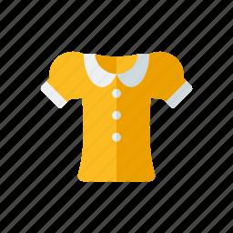 blouse, clothing, fashion, garment, wardrobe, women's wear icon