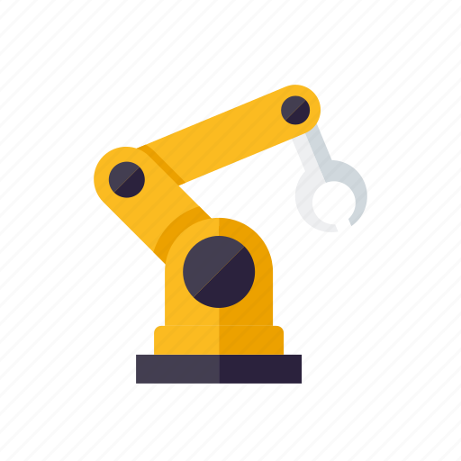 equipment, factory, industrial, industry, machinery, robot icon