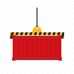 cargo, container, equipment, industry, shipping, transportation icon