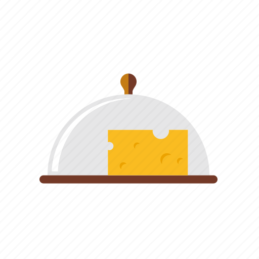 cheese, dome, food, household, kitchen, utensil icon