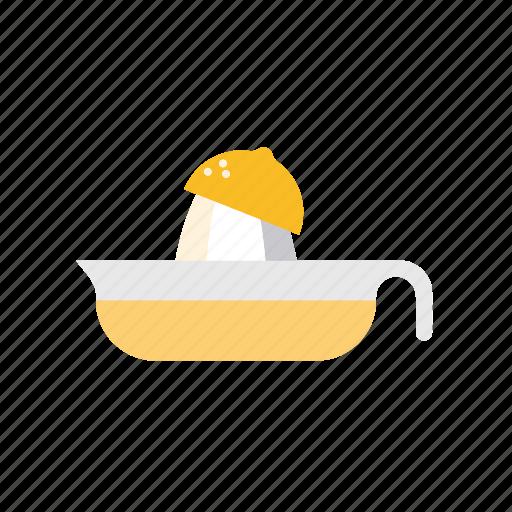 citrus, household, juicer, kitchen, lemon, utensil icon