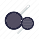 cooking, household, kitchen, pans, pots, utensil