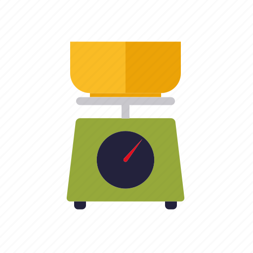 cooking, household, kitchen, measuring, scales icon