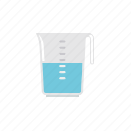 cooking, household, kitchen, measure, water icon