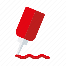 bottle, condiment, food, ingredients, ketchup, sauce, seasoning icon