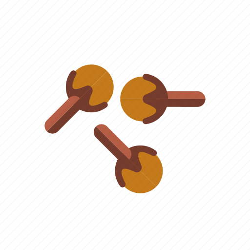 cloves, condiment, dried, food, ingredients, seasoning, spices icon