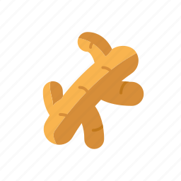 condiment, food, ginger, ingredients, root, seasoning, spices icon